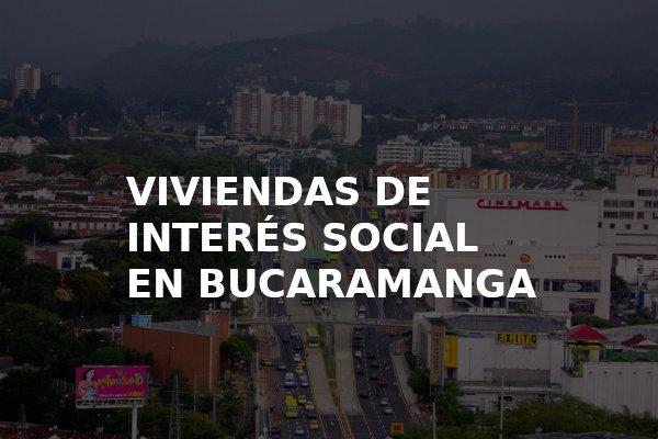 Viviendas de interes social en Bucaramanga