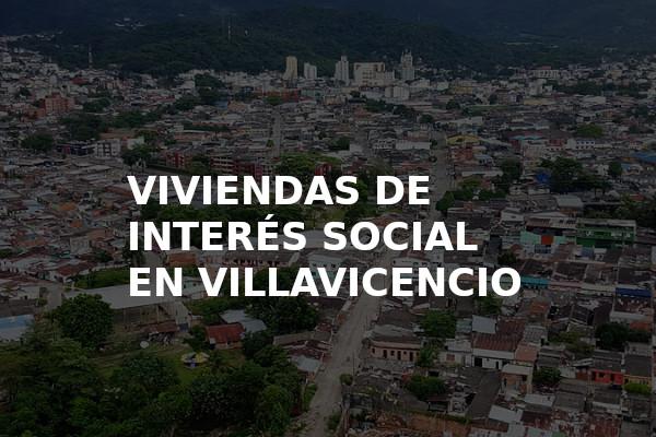 Viviendas de interes social en Villavicencio