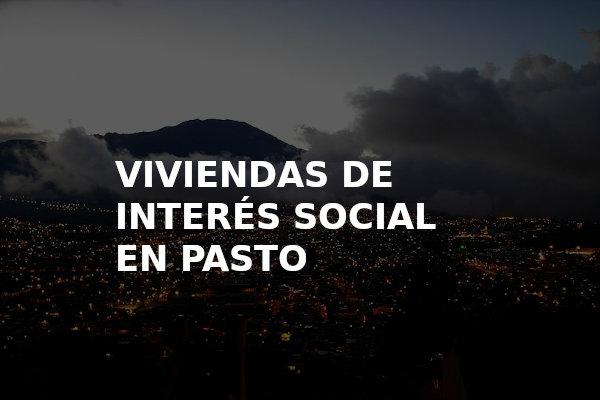 Viviendas de interes social en pasto