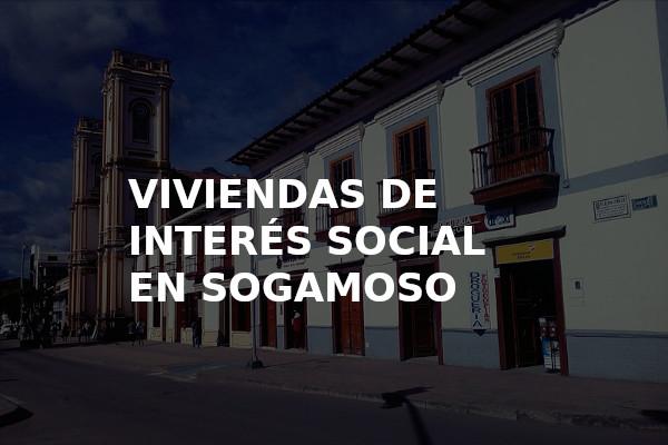 viviendas de interés social en Sogamoso
