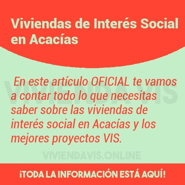 Viviendas de Interés Social en Acacías