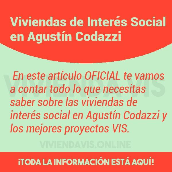 Viviendas de Interés Social en Agustín Codazzi