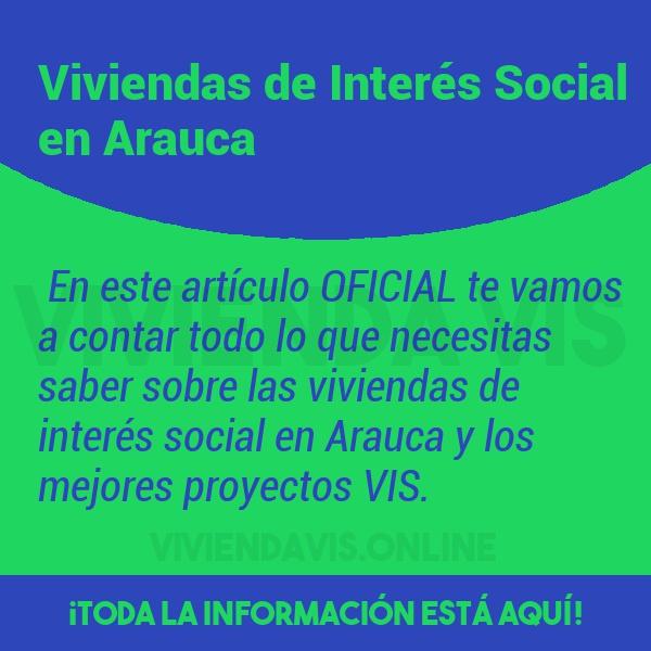 Viviendas de Interés Social en Arauca