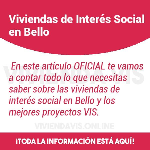 Viviendas de Interés Social en Bello
