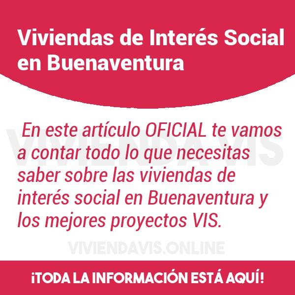 Viviendas de Interés Social en Buenaventura