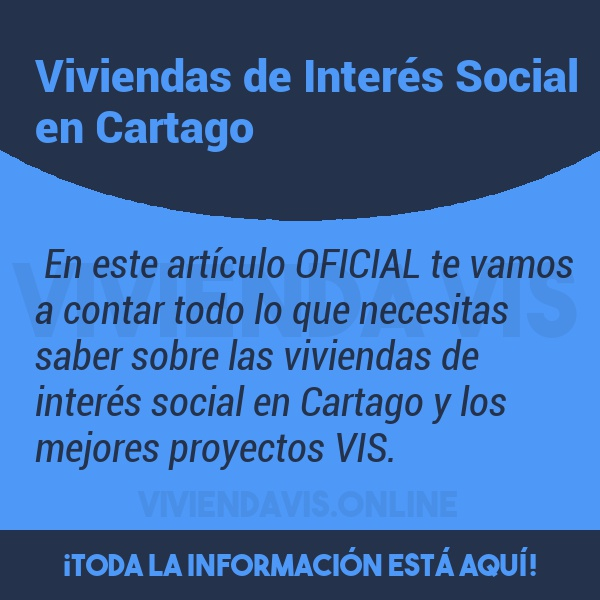 Viviendas de Interés Social en Cartago
