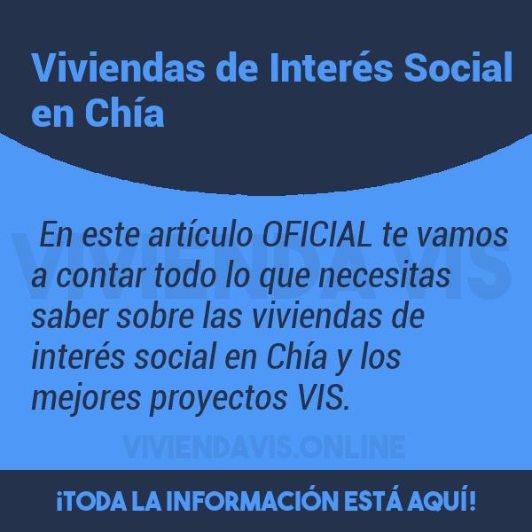 Viviendas de Interés Social en Chía