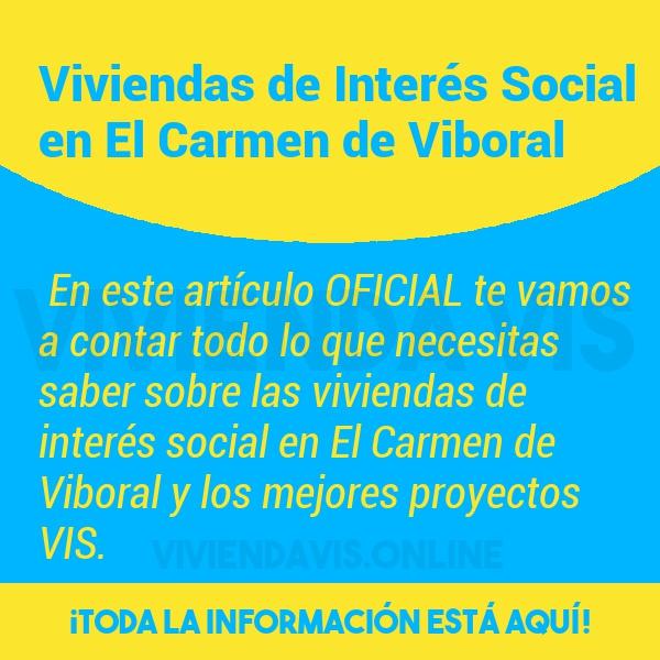 Viviendas de Interés Social en El Carmen de Viboral