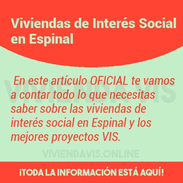 Viviendas de Interés Social en Espinal