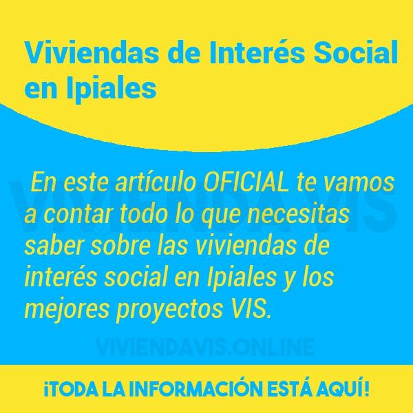 Viviendas de Interés Social en Ipiales