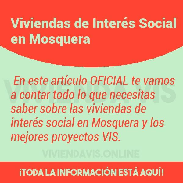 Viviendas de Interés Social en Mosquera