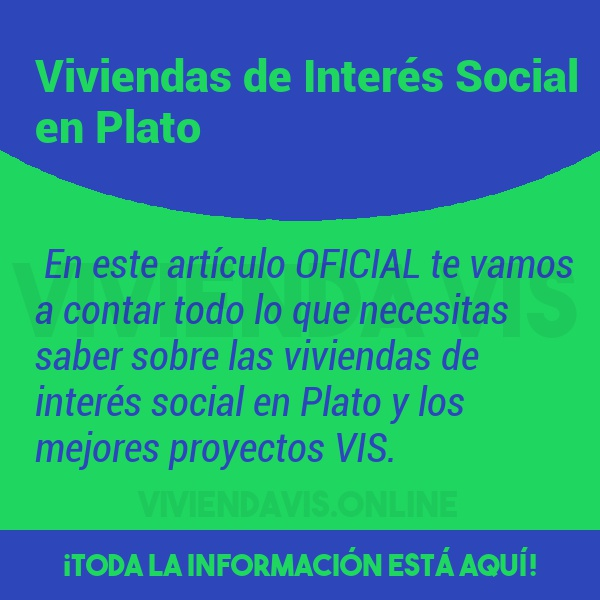 Viviendas de Interés Social en Plato