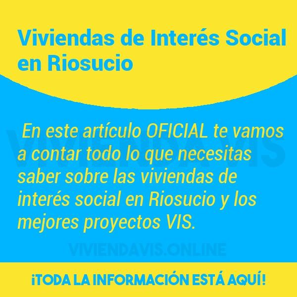 Viviendas de Interés Social en Riosucio