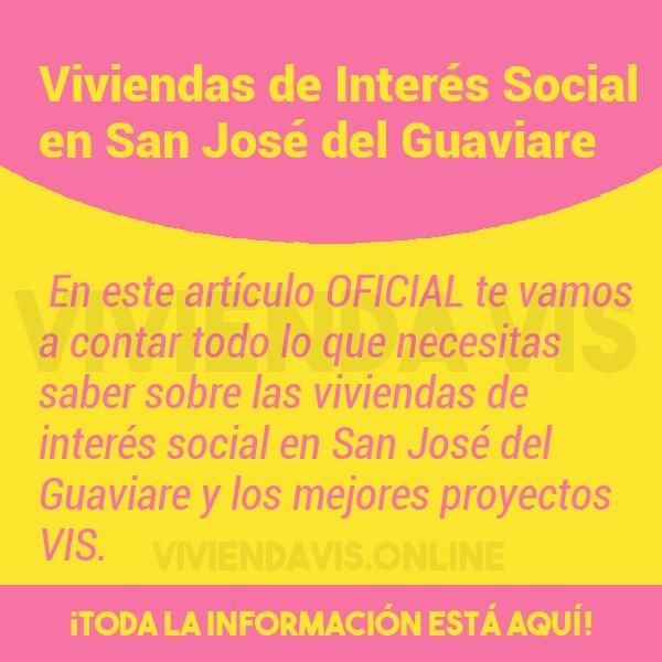 Viviendas de Interés Social en San José del Guaviare