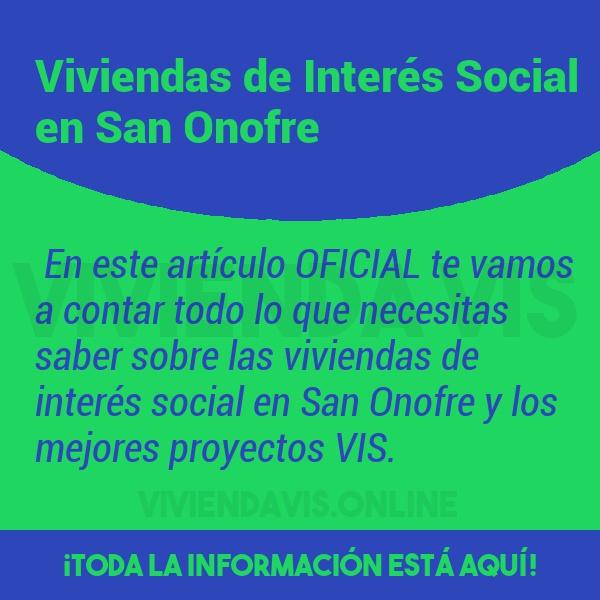 Viviendas de Interés Social en San Onofre