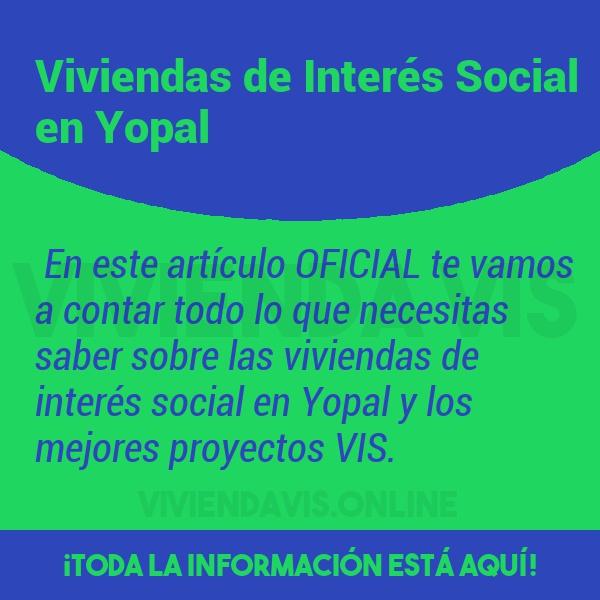 Viviendas de Interés Social en Yopal