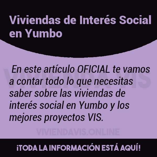 Viviendas de Interés Social en Yumbo